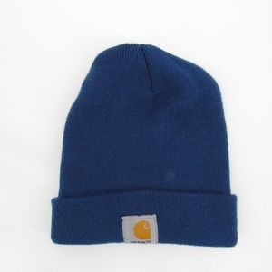 Carhartt Classic Two-Layer Cool Blue Knit Adult Hat